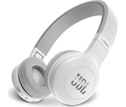 JBL E45BT Wireless Bluetooth Headphones - White