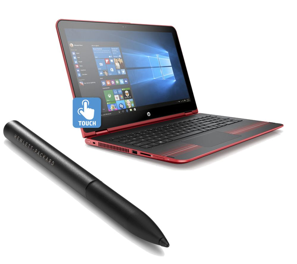 HP  Pavilion x360 15bk060sa 15.6 2 in 1 & Active Stylus Bundle
