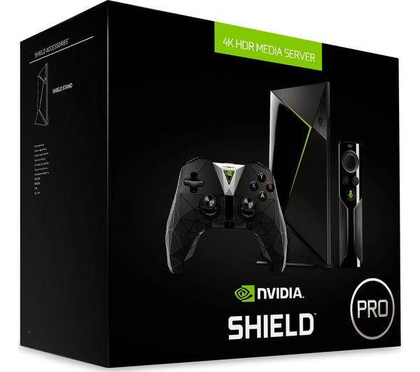 Buy Nvidia Shield Pro 4k Ultra Hd Smart Tv Box 500 Gb