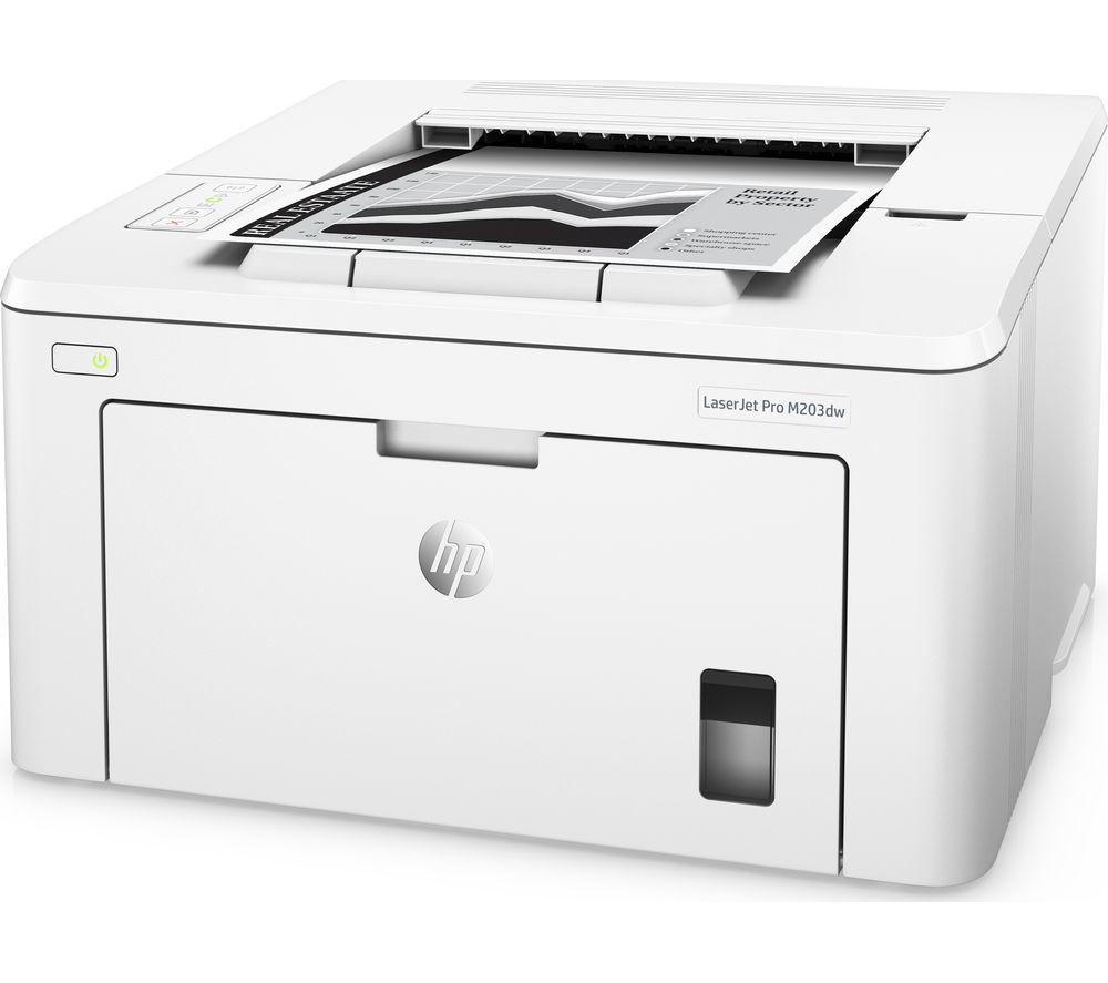 HP LaserJet Pro M203DW Monochrome Wireless Laser Printer Review