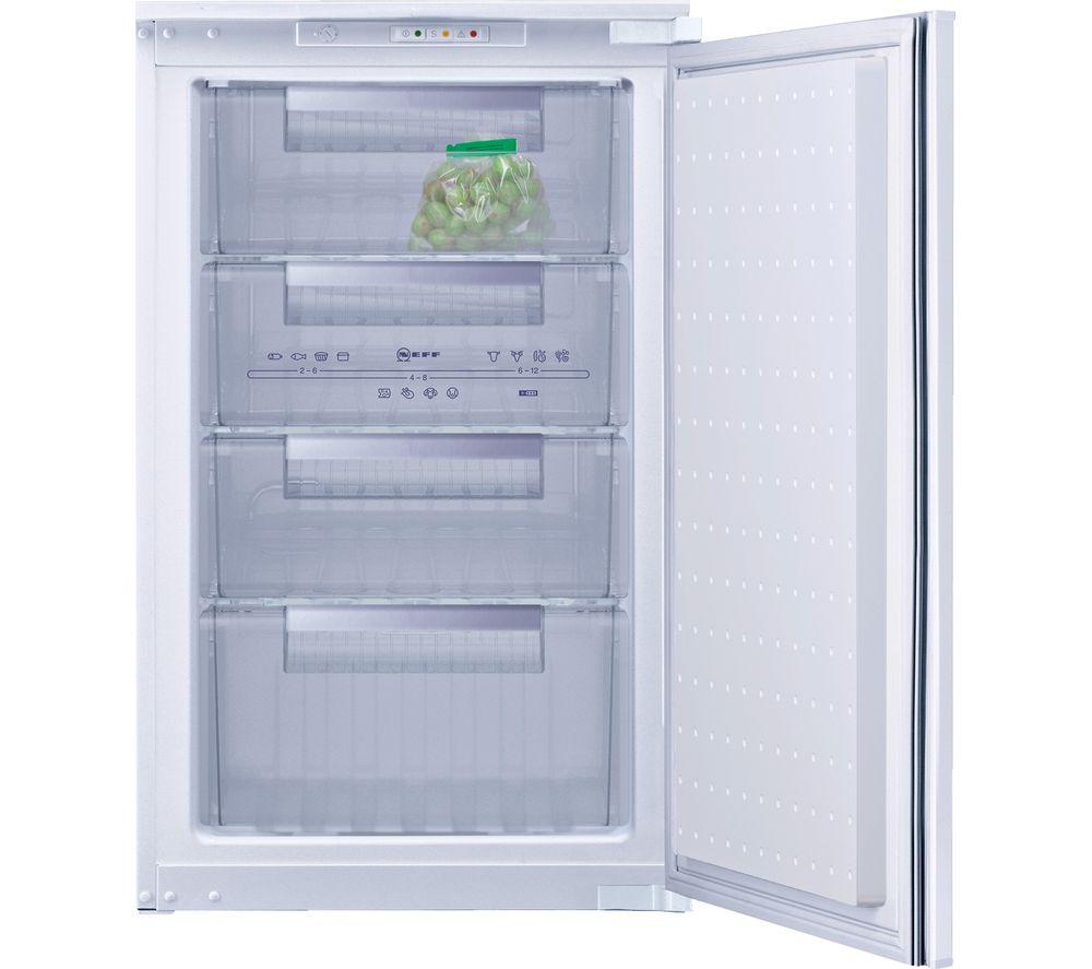 NEFF G1524X7GB Integrated Undercounter Freezer