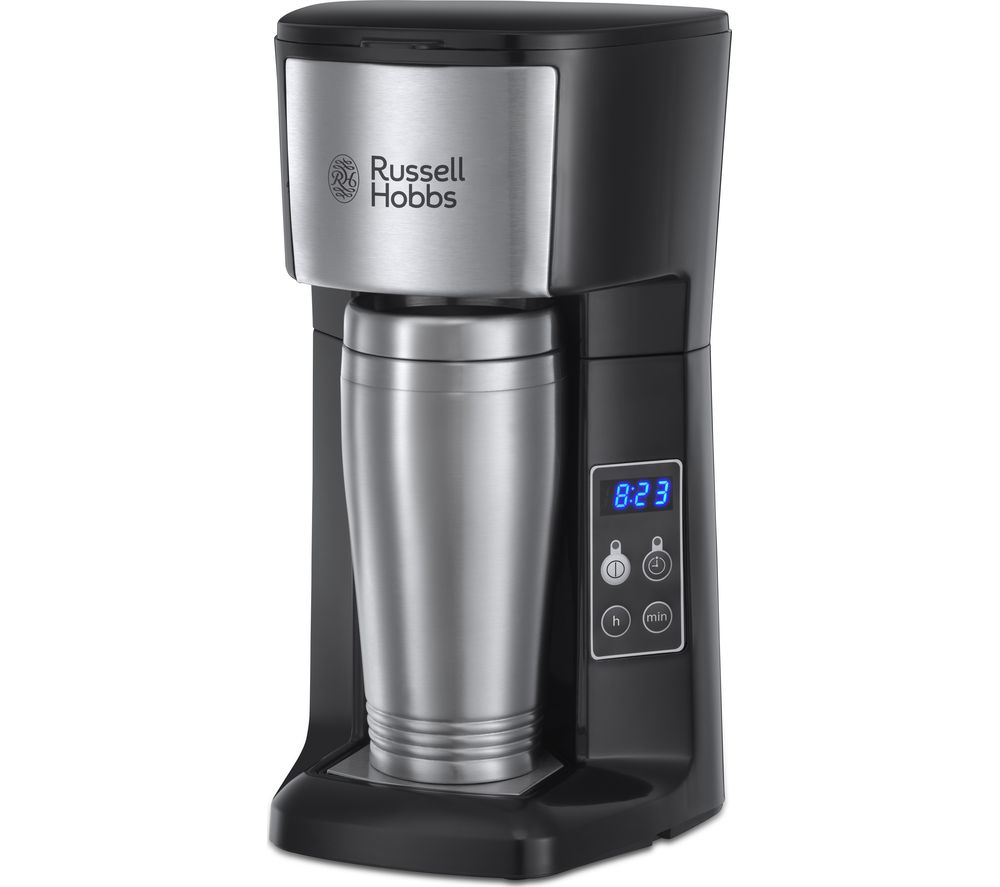 Buy RUSSELL HOBBS Brew & Go 22630 Filter Coffee Machine - Stainless Steel Free Delivery Currys