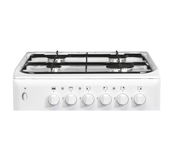 INDESIT IT50GW Gas Cooker White