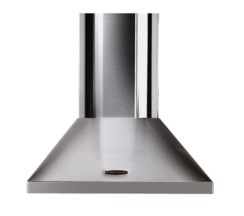 buy rangemaster leihdc60sc chimney cooker hood stainless. Black Bedroom Furniture Sets. Home Design Ideas