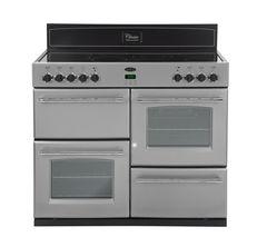 BELLING Classic 110E Electric Ceramic Range Cooker - Silver
