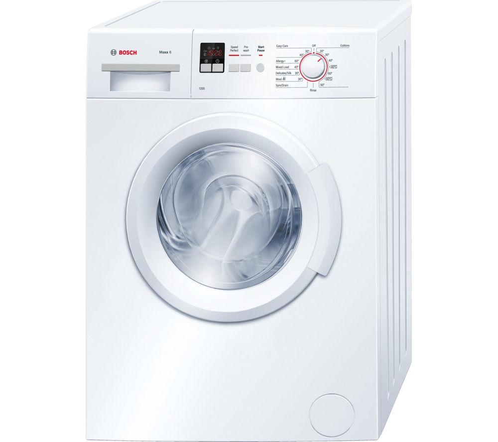 buy bosch wab24161gb washing machine white free. Black Bedroom Furniture Sets. Home Design Ideas