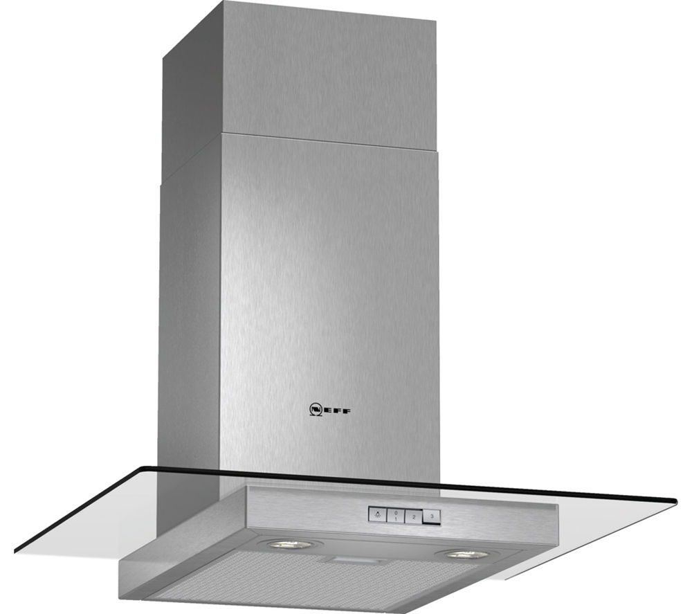 NEFF D86ER22N0B Chimney Cooker Hood - Stainless Steel