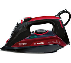 BOSCH Sensixx TDA5070GB Steam Iron - Black & Red