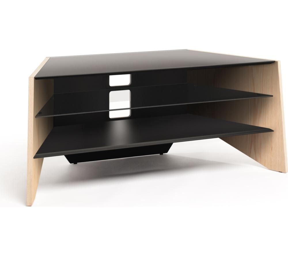 TECHLINK  Facet TV Stand Light oak