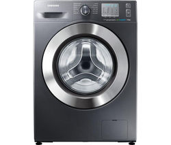 SAMSUNG ecobubble WF70F5EDW4X Washing Machine - Graphite