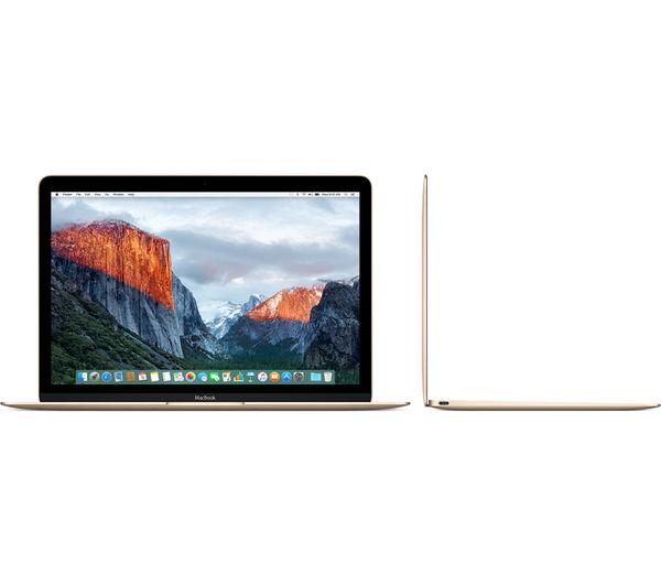 "Image of APPLE MacBook 12"" - Gold"