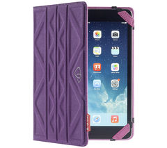 "TECHAIR Flip & Reverse Universal 10"" Tablet Case - Purple & Pink"