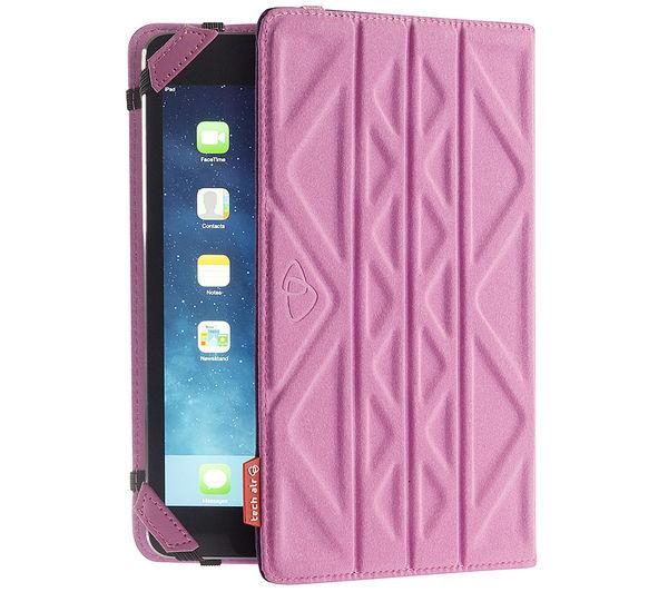 "Image of TECHAIR Flip & Reverse Universal 10"" Tablet Case - Purple & Pink"