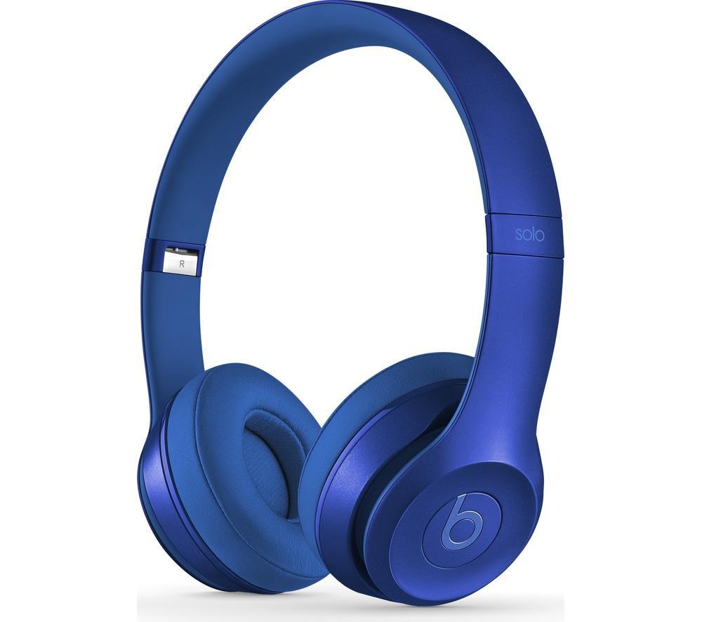 BEATS BY DR DRE Solo 2 Headphones - Royal Edition Sapphire ... Beats By Dre Blue