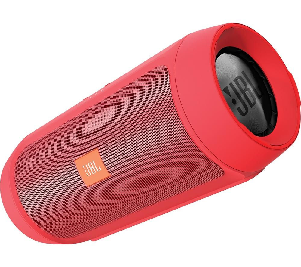 JBL CHARGE2+ Portable Wireless Speaker - Red