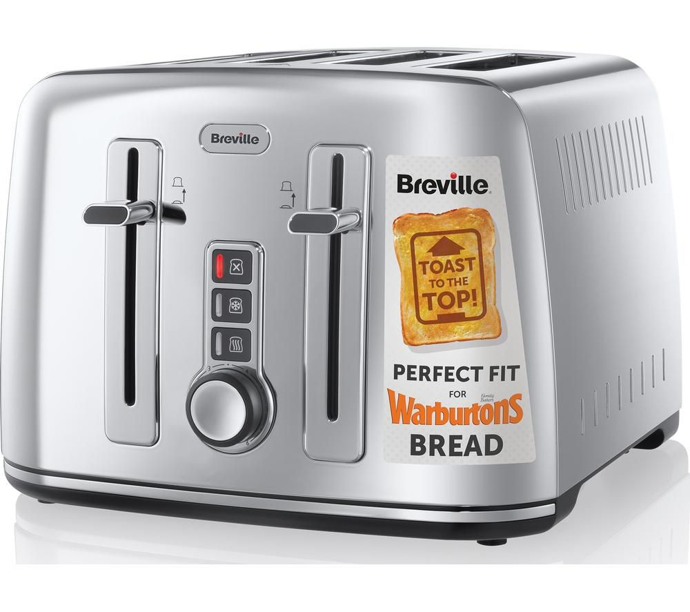 Buy breville the perfect fit for warburtons vtt571 4 slice for My perfect kitchen products