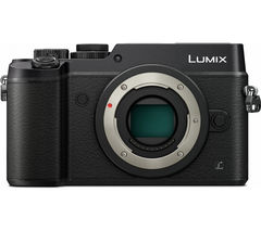 PANASONIC DMC-GX8EB-K Compact System Camera - Black, Body Only