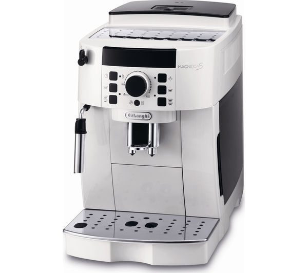 buy delonghi magnifica s bean to cup coffee machine white free delivery currys. Black Bedroom Furniture Sets. Home Design Ideas