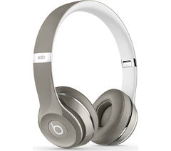 BEATS BY DR DRE Solo 2 Headphones - Luxe Edition, Silver