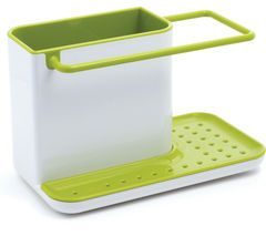 JOSEPH JOSEPH Caddy Sink Tidy - White & Green