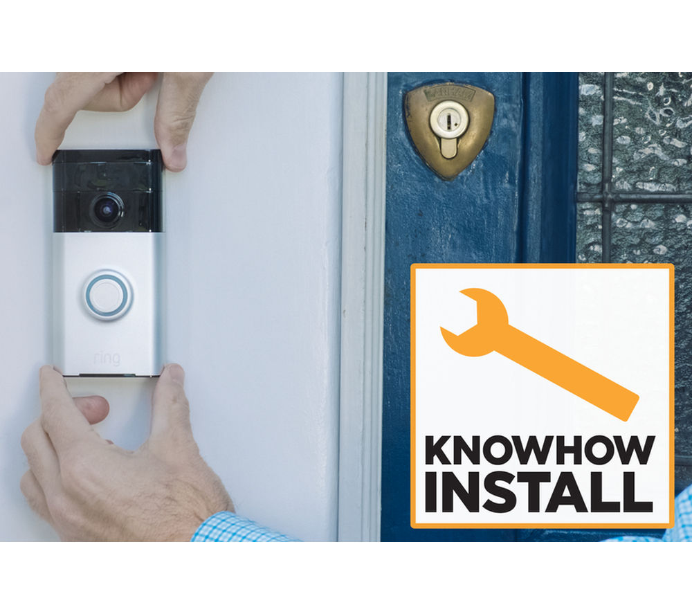 KNOWHOW Ring Doorbell & Installation Bundle - Bronze