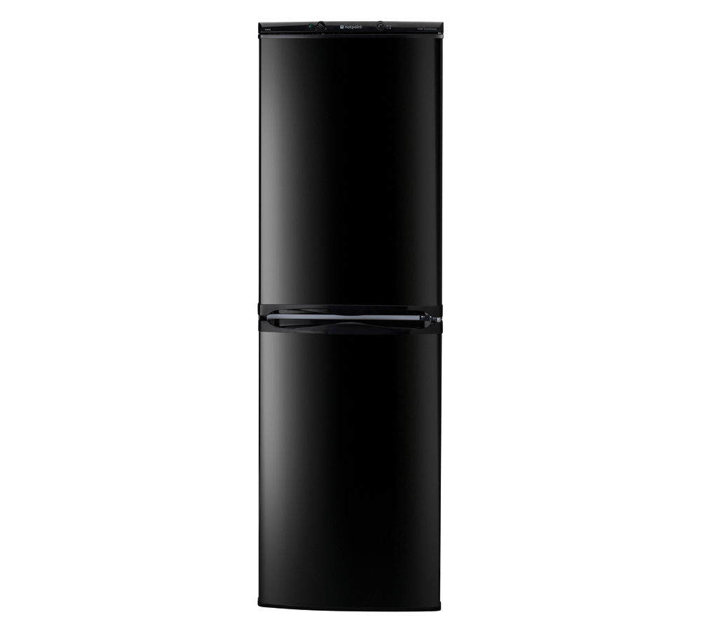 HOTPOINT  FFAA52K Fridge Freezer  Black Black