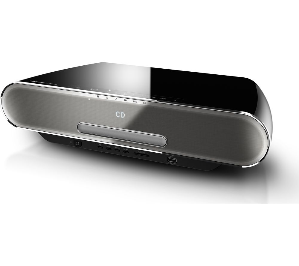 Click to view more of PANASONIC  SC-ALL7CDEBK Wireless Smart Sound Multi-Room Micro Hi-Fi System - Black, Black