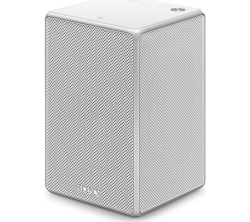 Sony SRS-ZR5W Wireless Smart Sound Multi-Room Speaker - White, White