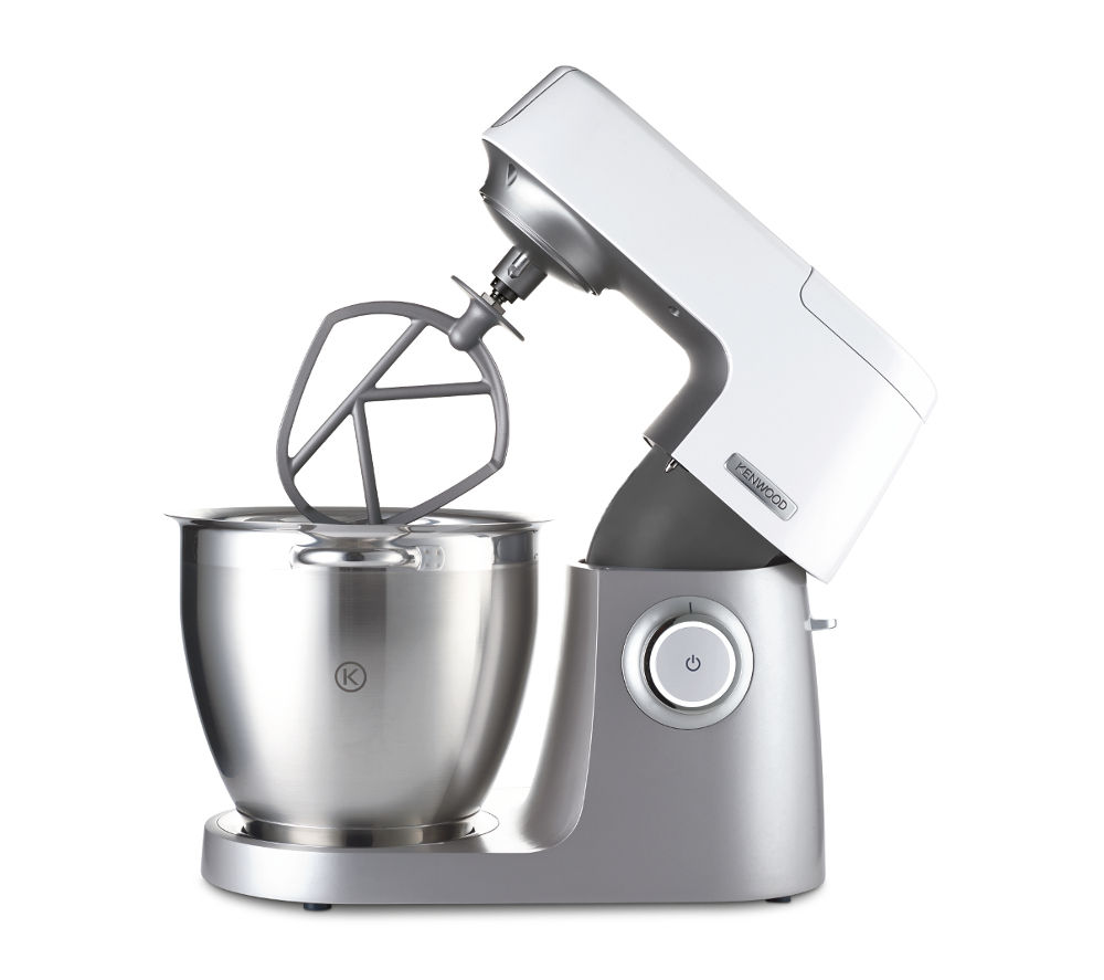 buy kenwood chef sense xl kvl6000t stand mixer silver free delivery currys. Black Bedroom Furniture Sets. Home Design Ideas