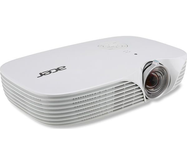 Acer k138st short throw compact projector deals pc world for Compact projector for laptop