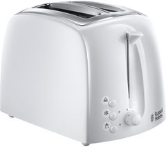 RUSSELL HOBBS Textures 21640 2-Slice Toaster - White