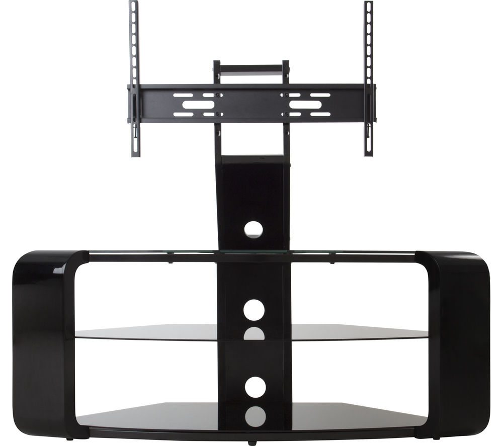 AVF  Como FSL1174COB TV Stand with Bracket  Black Black