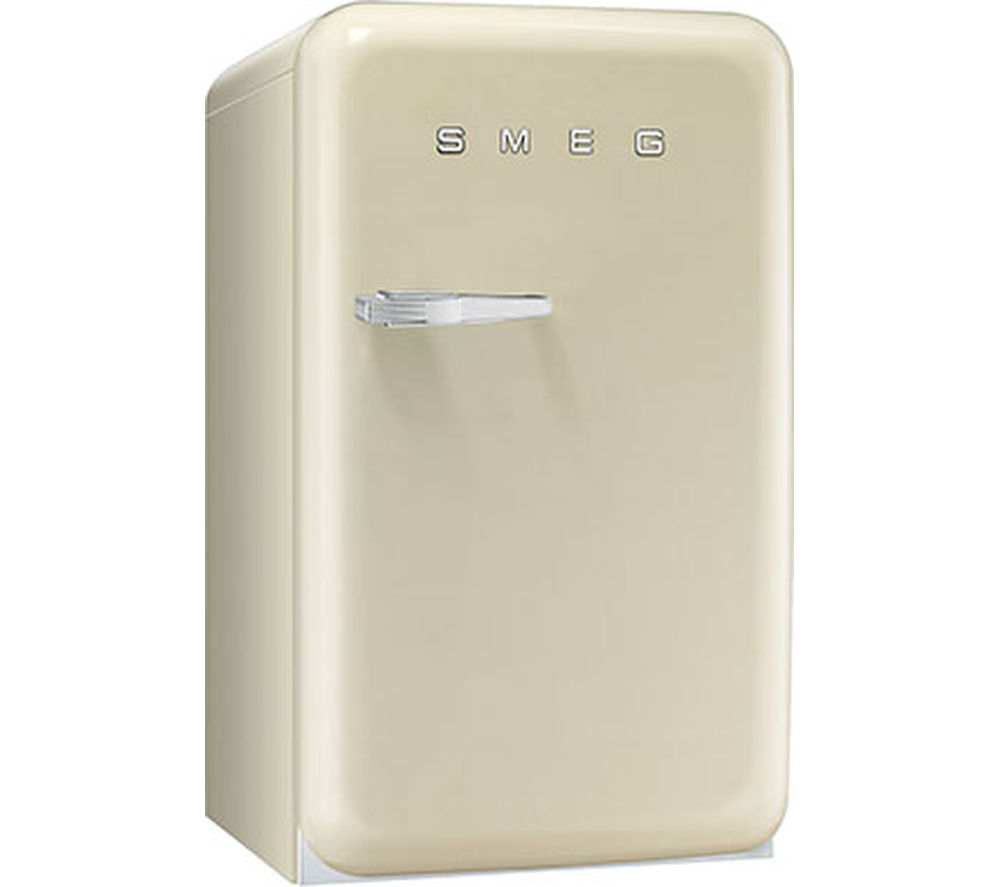 buy smeg fab10hrp mini fridge cream free delivery currys. Black Bedroom Furniture Sets. Home Design Ideas