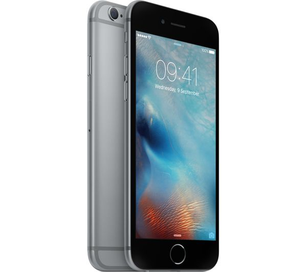 buy apple iphone 6s 32 gb space grey free delivery currys. Black Bedroom Furniture Sets. Home Design Ideas