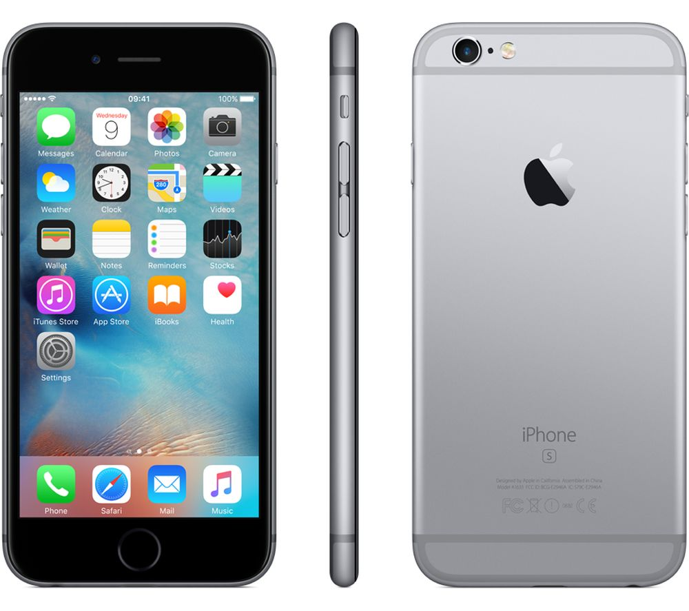 apple iphone 6s 32 gb space grey deals pc world. Black Bedroom Furniture Sets. Home Design Ideas