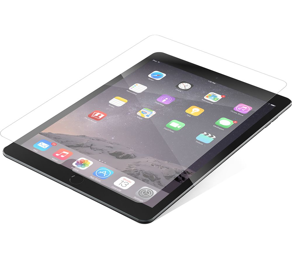 buy zagg invisibleshield ipad air screen protector free delivery currys. Black Bedroom Furniture Sets. Home Design Ideas