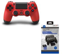 SONY DualShock 4 Wireless Gamepad - Red