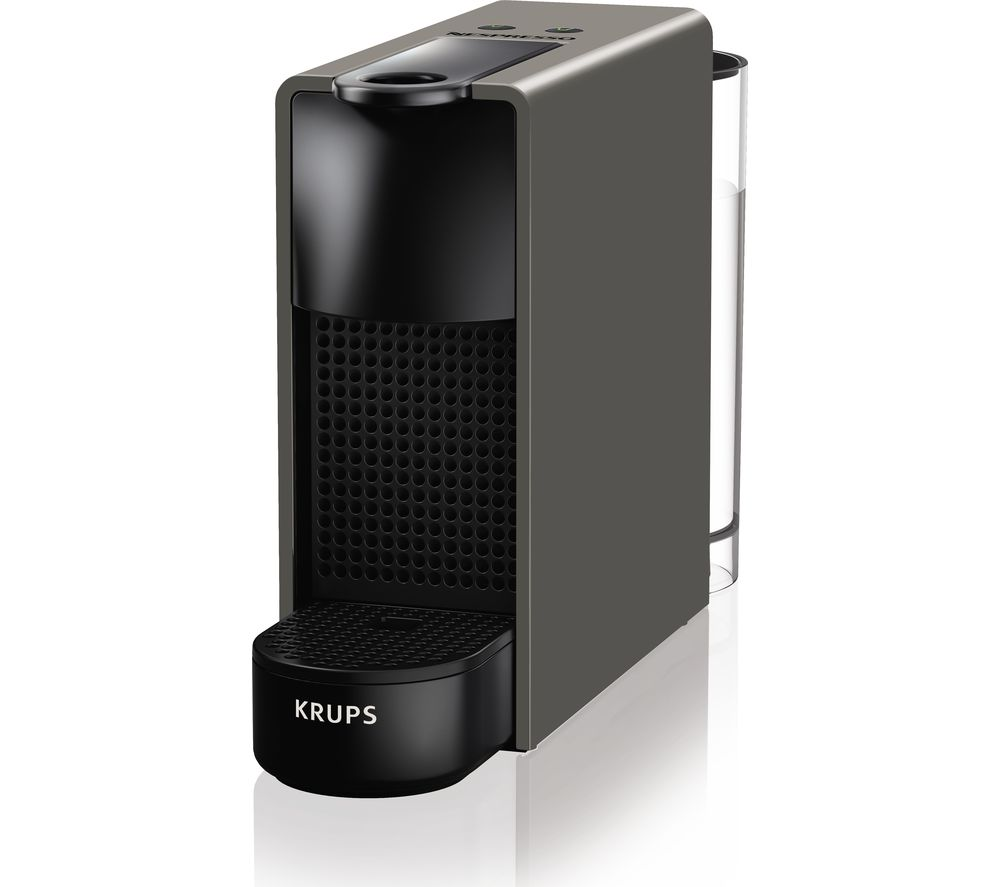 KRUPS by KRUPS Essenza Mini XN110B40 Coffee Machine  Grey Grey