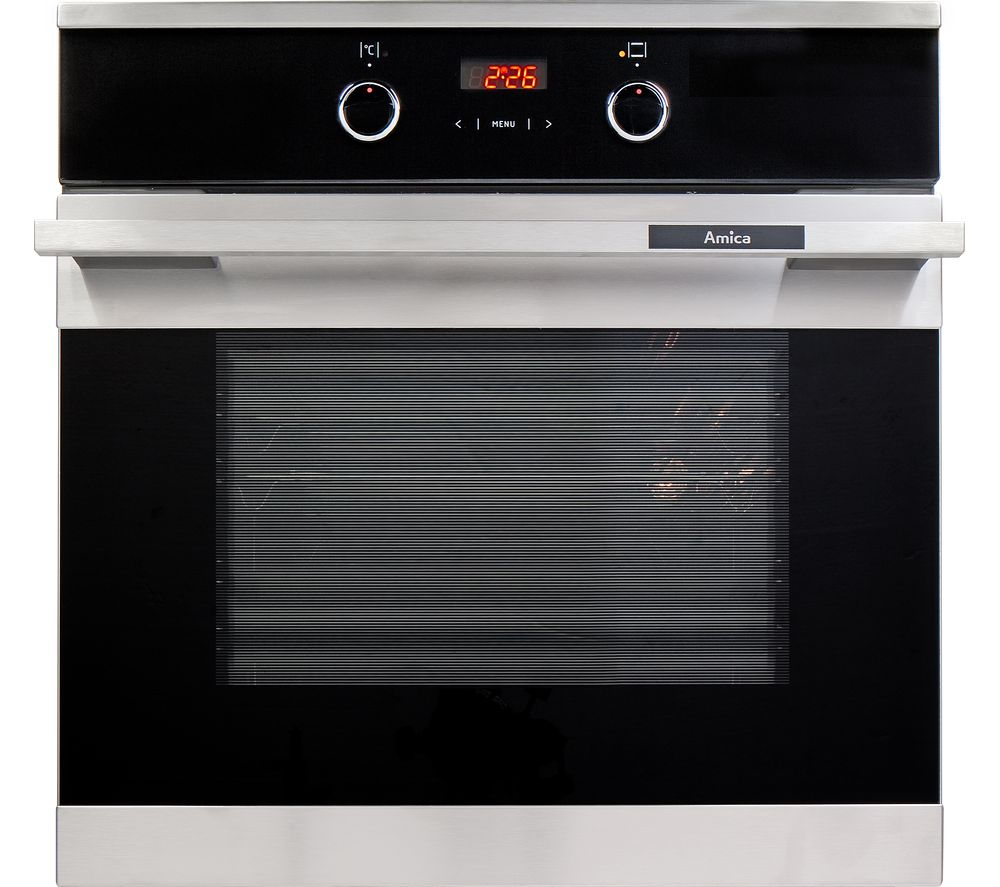 Image of AMICA 1053.3TsX Electric Oven - Stainless Steel, Stainless Steel