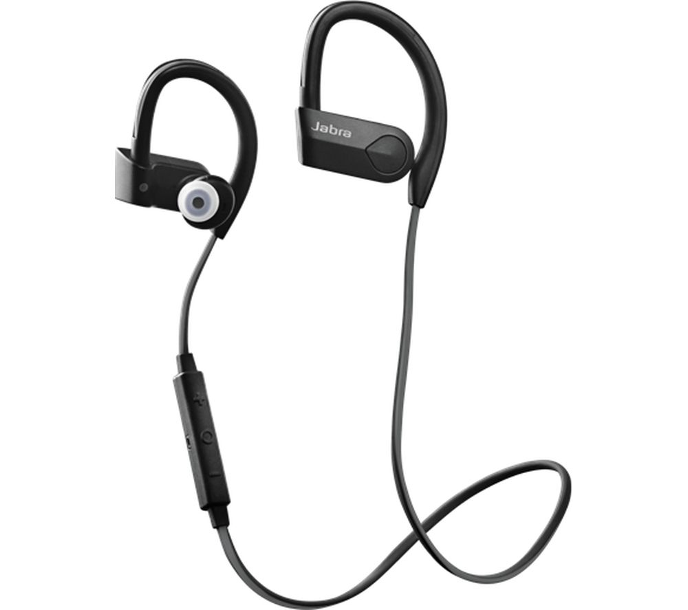 buy jabra sport pace wireless bluetooth headphones black free delivery currys. Black Bedroom Furniture Sets. Home Design Ideas
