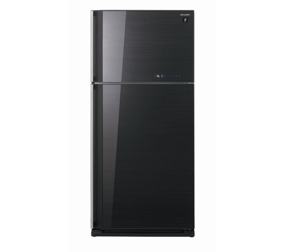 SHARP SJGC680VBK Fridge Freezer - Black