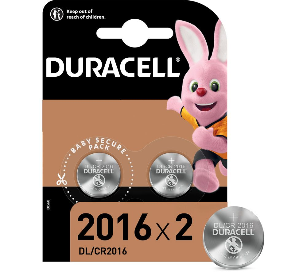 DURACELL 2016 Lithium Batteries