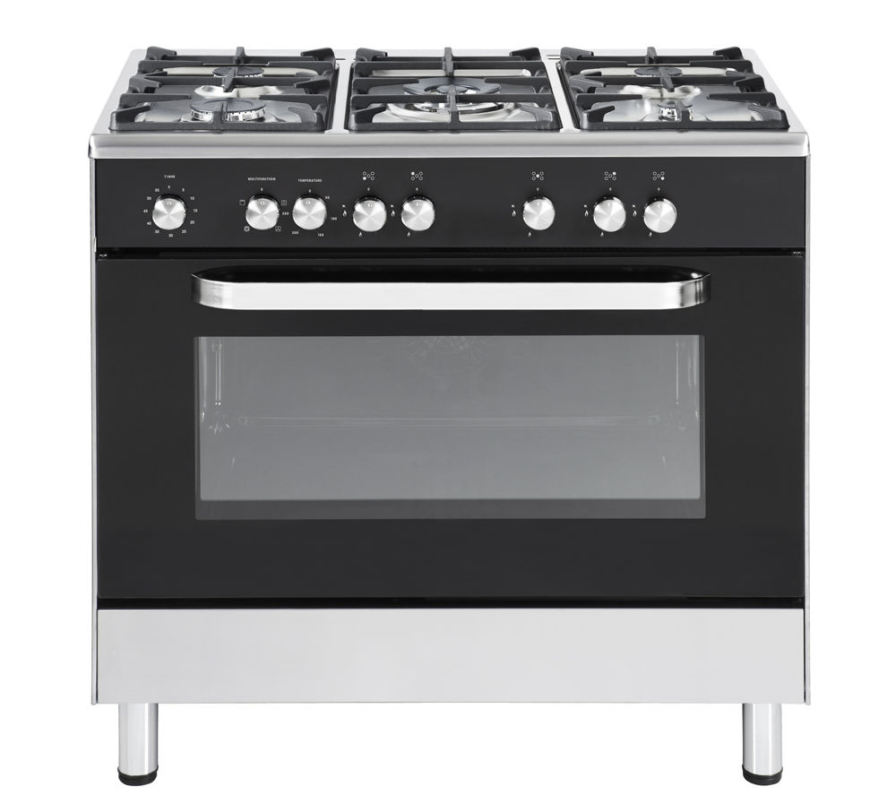 KENWOOD CK305 Dual Fuel Range Cooker - Black