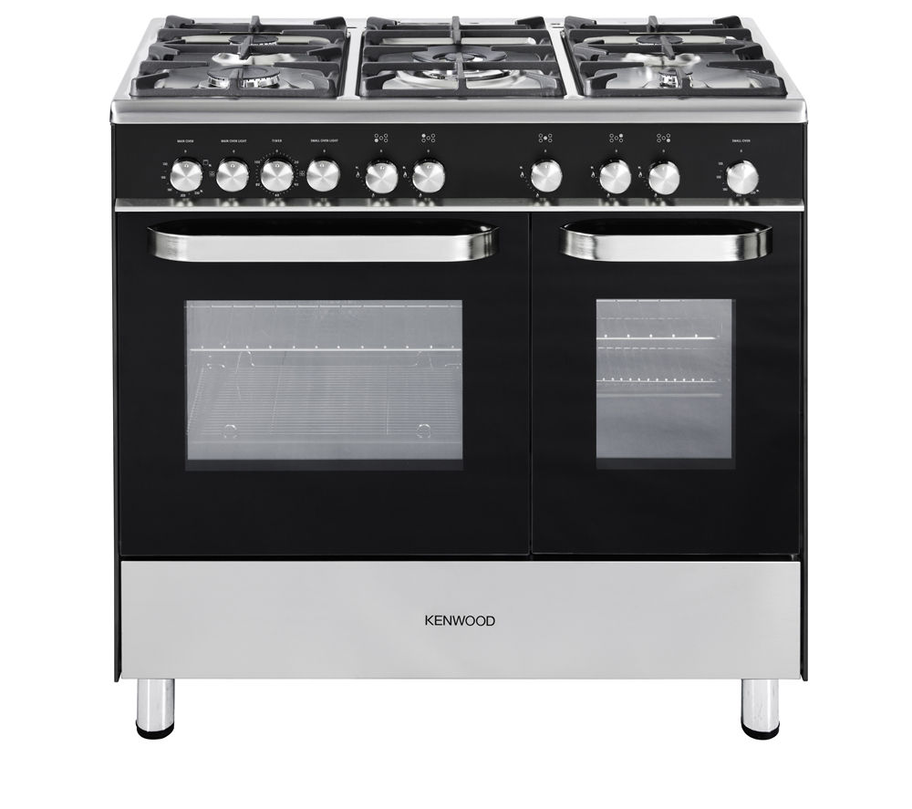Buy Kenwood Ck405g Gas Range Cooker Black Free