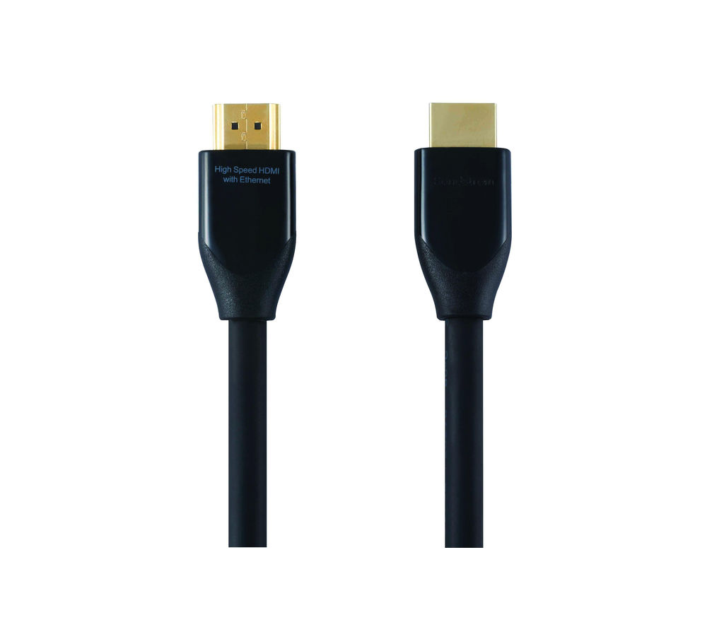 SANDSTROM AV Black Series HDMI Cable - 2 m