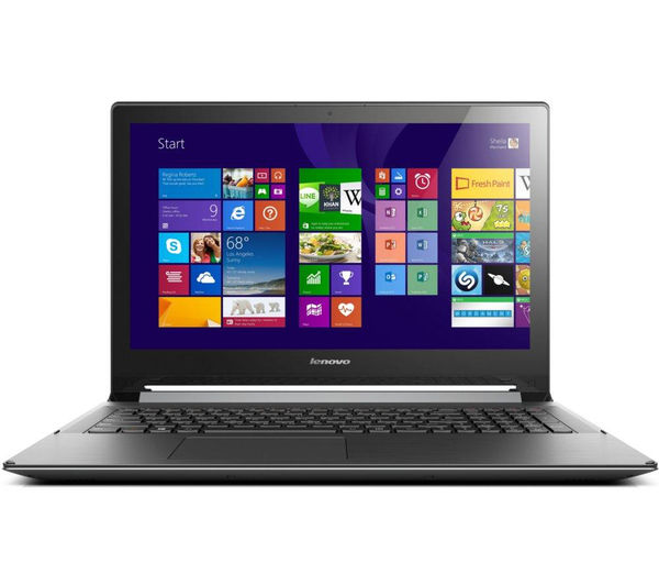 Lenovo Flex 2 Refurbished 15.6 Convertible Touchscreen Laptop  Black Black