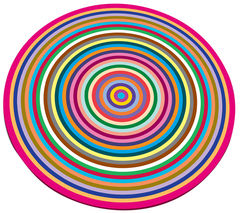 JOSEPH JOSEPH COLR014AS Glass Chopping Board - Coloured Rings