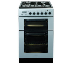 BAUMATIC BCG520SL Gas Cooker - Silver