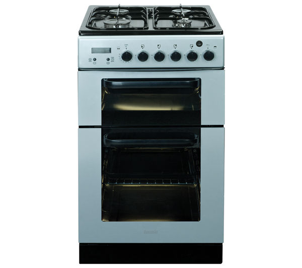 BAUMATIC BCG520SL Gas Cooker - Silver