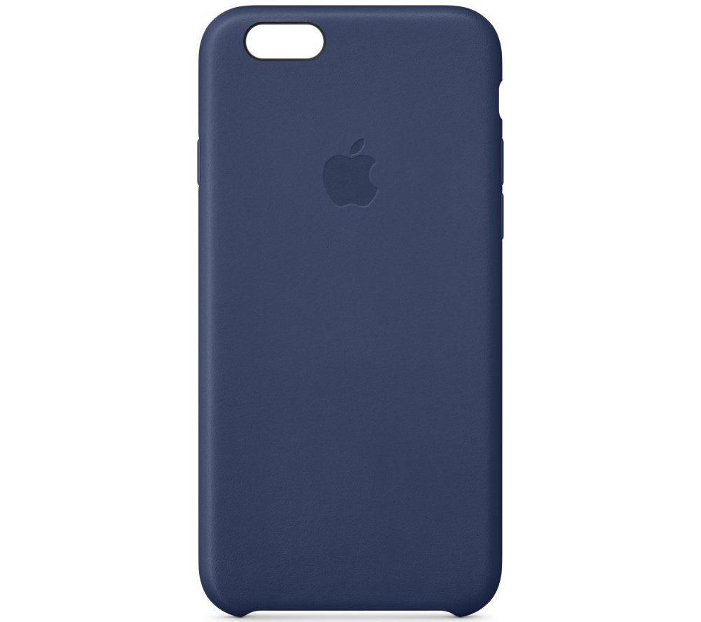 APPLE Leather iPhone 6 Case - Blue